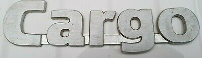£16.99 • Buy FORD CARGO BADGE - Vintage Classic Van Truck Lorry Part Make Unknown