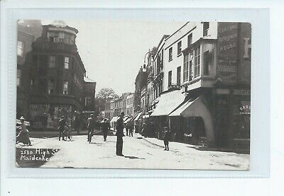 £15 • Buy Real Photo Postcard Of The High Street In Maidenhead  Berkshire Good Condition