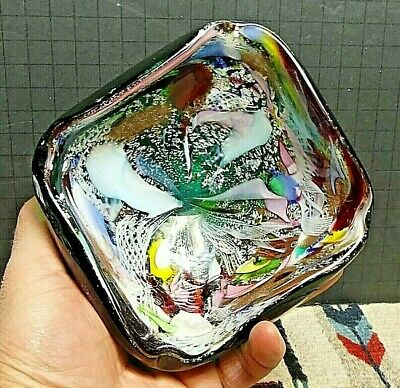 $127.60 • Buy Vintage Murano Fratelli Toso Tutti Frutti End Of Day Hand Made Ashtray/Dish WOW!