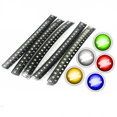 $16.44 • Buy SMD/SMT LED's - 0402, 0603, 0805, 1206 - Red, Blue, Green, White, Orange, Yellow