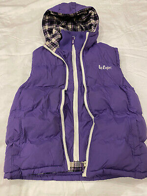 £5 • Buy Purple Hooded Gilet 13yrs - Superb Condition
