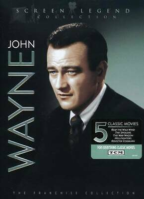 $5.81 • Buy John Wayne: Screen Legend Collection (Reap The Wild Wind / Rooster C - VERY GOOD