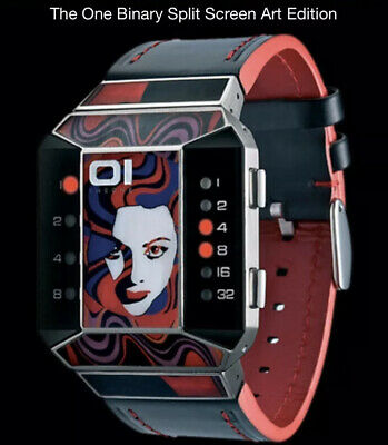 $268.32 • Buy 01 THE ONE, SPLIT SCREEN, NEU, OVP, Binary Watch, LIMITED EDITION, Nr. 468/600