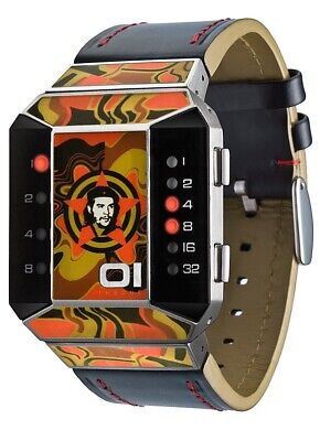 $316.03 • Buy 01 THE ONE - Che Guevara, LED Binary Watch, Auf 600 LIMITIERTE ART EDITION SC114