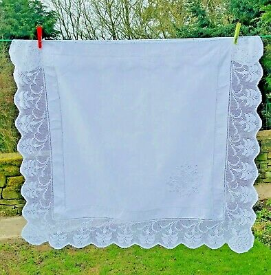 £20 • Buy Vintage French Linen Tablecloth