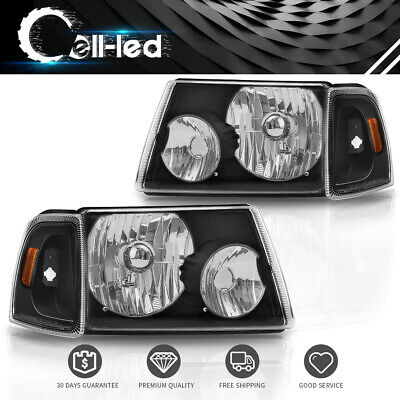 $64.65 • Buy For 2001-11 Ford Ranger Pickup Truck Headlight Headlamp Assembly + Corner Light