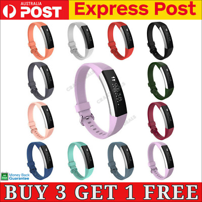 AU4.85 • Buy Fitbit Alta HR Replacement Band Secure Strap Wristband Buckle Bracelet Fitness