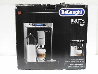 AU828.74 • Buy De'Longhi Eletta ECAM 45.760.B Cappuccino Coffee Maker - Black