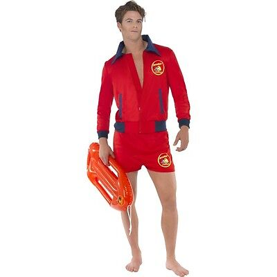 £36.71 • Buy Mens Licensed Baywatch Fancy Dress Costume Beach Lifeguard Film Movie Stag Do