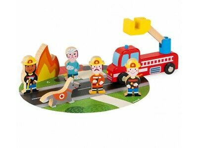 £13.99 • Buy Janod - Story Firefighters Playset **new**