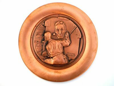 $ CDN18.82 • Buy Vintage 1977 Rockwell's Rockwell Limited Edition Collectible Copper Plate