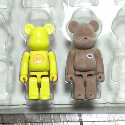 $209 • Buy Be@rbrick Fragment Design Almost Famous Lot Of 2 Bearbrick Figure Japan Shipped