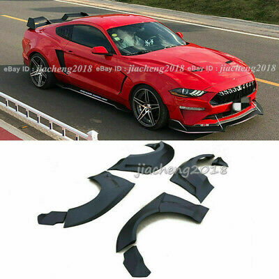 $ CDN1082.75 • Buy For Ford Mustang 15-20 GT500 Fender Flares Wide Body Kit Wheel Arch Cover Trim