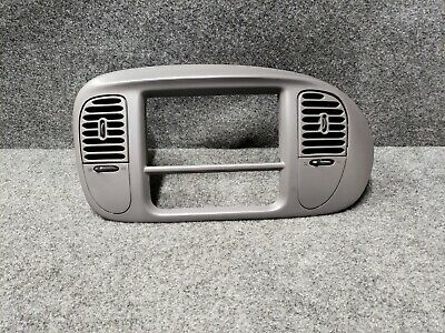 $45 • Buy 97 03 Ford F150 Or Expedition Radio And Climate Control Trim Bezel Gray