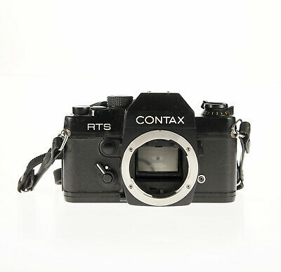 $ CDN185.47 • Buy Contax RTS SLR 35mm Film Camera Black Body Only