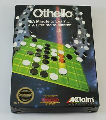 £38.75 • Buy Othello (USA NTSC – NOT FOR UK CONSOLES) (NES) ✔ Collectible Condition