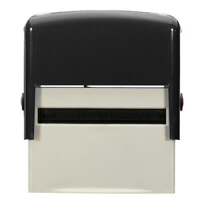 £8.68 • Buy Personalised DIY Self Inking Rubber Stamp Kit Customised Business Name Etc AT
