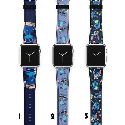 $ CDN22.55 • Buy Stitch Apple Watch Band 38 40 42 44 Series SE 6 5 1 2 3 4 Wrist Strap IWatch S86