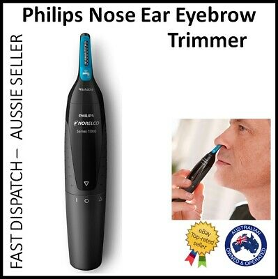 AU19.95 • Buy Philips Nose Ear Eyebrow Hair Shaver Grooming Trimmer Battery Operated Groomer