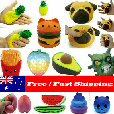 AU10.69 • Buy Reliever Stress Gifts Jumbo Slow Rising Soft Scented Squeeze Toy Kid Gift @AU
