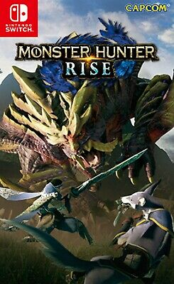AU98.60 • Buy Monster Hunter Rise Asia Chinese/English Etc Subtitle SWITCH BRAND NEW