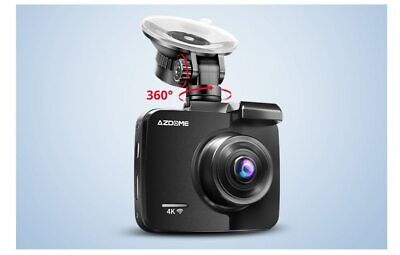 AU149.40 • Buy 4k Dash Cam With Gps WiFi Car Video DVR Recorder Dual Cameras For Front And Rear