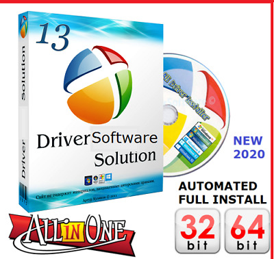 DRIVER UPDATER DVD Software - Windows 10 8 7 PRO & HOME - 1 Fast & Secure UK • 2.69£