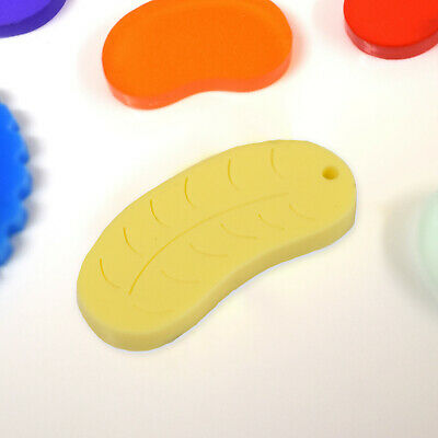 £2.80 • Buy 2 X Foam Banana Laser Cut Charms In Choice Of Size And Colour