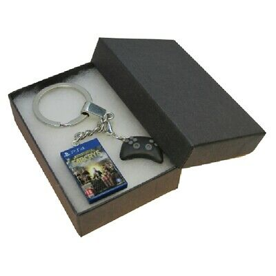 AU10.98 • Buy Handmade Fimo PS4 Gaming Keyring Farcry 5 Gold Edition Game & Controller