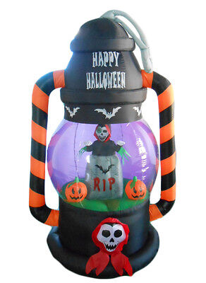 $ CDN95.59 • Buy Halloween Inflatable Yard Party Air Blown Decoration Ghost RIP Tombstone Lantern