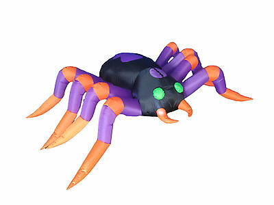 $ CDN73.98 • Buy 8 Foot Halloween LED Inflatable Yard Party Air Blown Blowup Decoration Spider