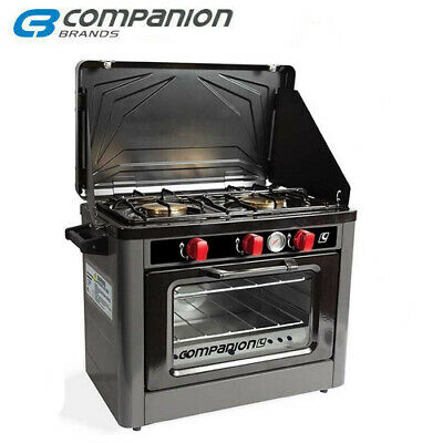 AU349.95 • Buy Companion 2 Burner Stove Oven Cooker Gas Camping Outdoor Cs-01