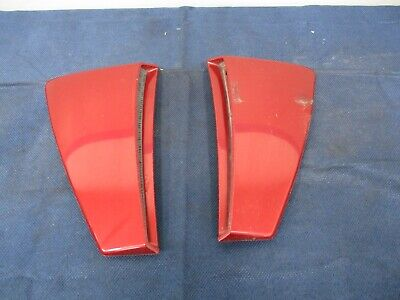 $119.99 • Buy 2003-04 Ford Mustang SVT Cobra Red Fire Side Scoops 047