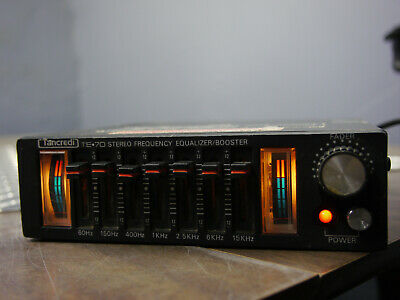 $ CDN249.96 • Buy Vintage Tancredi Equalizer Booster