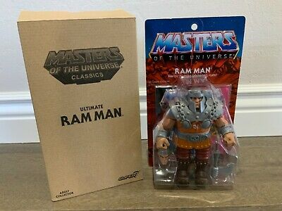 $260 • Buy Super 7 MOTU He-Man Masters Of The Universe ULTIMATE RAM MAN 6  Classic 2016
