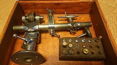 £350 • Buy VIintage Lorch Watchmakers Lathe 6mm