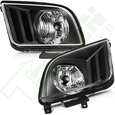 $81.18 • Buy Headlights Fits 2005-2909 Ford Mustang Driver + Passenger Side Headlamp One Pair