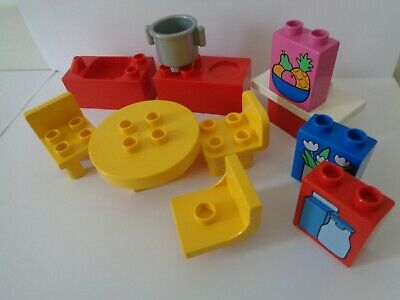 £12.99 • Buy  Lego Duplo Kitchen House Furniture Chair Table Sink Cooker