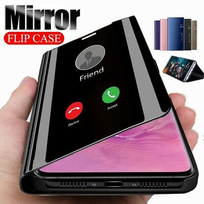 $ CDN5.18 • Buy For Samsung Galaxy S8 & S8 + Smart View Mirror PU Leather Flip Stand Case Cover