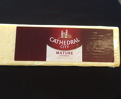 £13.21 • Buy Cathedral City Mature Cheddar Approx 1.25kg