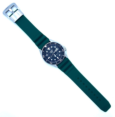 $ CDN24.88 • Buy 22mm Green Rubber Silicone Watch Strap Diver Band Fits SEIKO Prospex Turtle 5