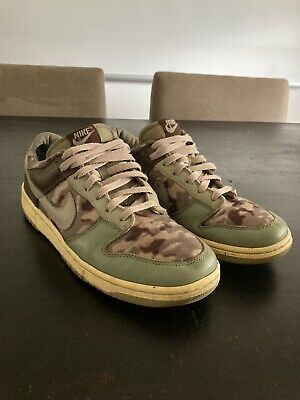AU185 • Buy Nike SB Dunk Low Camo Brown Mint Rare Limited Colourway US10