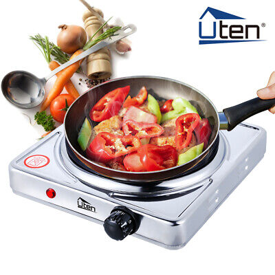 £15.49 • Buy UTEN Electric Hot Plate Portable Induction Cooker 1500W Burner Stove Kitchen