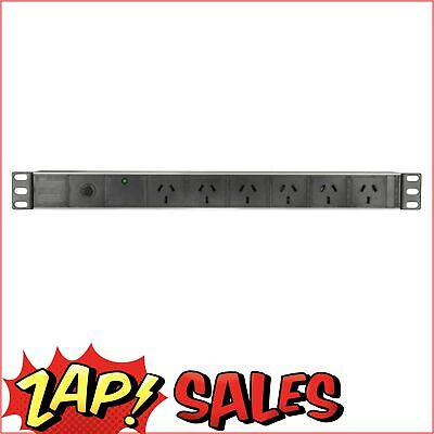 AU74.95 • Buy Power Board, Rack Mount, 6-way, Surge & Overload Protection MS4094