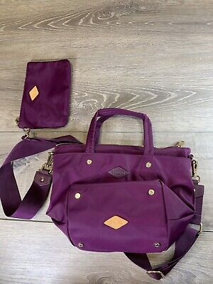 AU208.43 • Buy $195 Mz Wallace Elderberry Burgundy Soho XS Tote