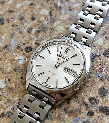 $ CDN168.17 • Buy Vintage Seiko 5 Actus 21 Jewels Automatic 7019 Nippon Telephone Kanji 1970