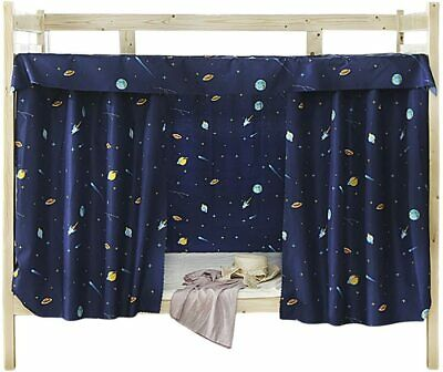 Cabin Bunk Bed Tent Curtain Cloth Dormitory Mid Sleeper Canopy Spread Kids New • 14.99£