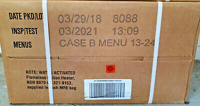 $92.99 • Buy Military Surplus MRE Ready To Eat Survival Case B 12 Meals 3/2021 By Ameriqual