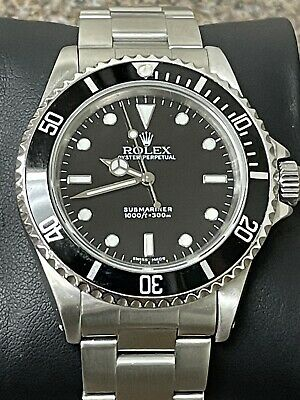 $ CDN12525.74 • Buy Rolex Oyster Perpetual Submariner Black Dial 14060