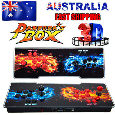 AU199.99 • Buy NEW Pandora's Box 20s Retro Video Arcade Game Console Machine Home For TV PC USB
